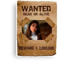 Buffy Cordelia Wanted 3 Canvas Print