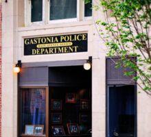 Police Department Sticker