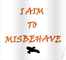 Firefly - I Aim To Misbehave Poster