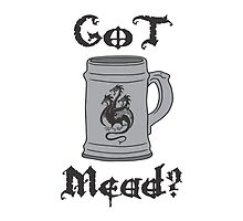 GoT Mead? 3 Headed Dragon Stein & Quote by Roy Rivers