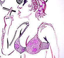 Smokin' by Sacha  Whitehead