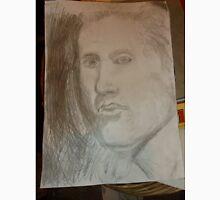 Male Head/Copy -(310516)- Pencil/A4 sketchbook Unisex T-Shirt
