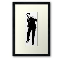 Ska dancer Framed Print