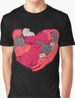 A Purrrrrfect Love Graphic T-Shirt