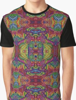 Psychedelic Abstract colourful work 58 Graphic T-Shirt