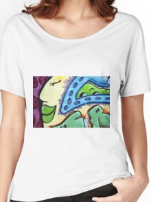 Graffiti Beauty Women's Relaxed Fit T-Shirt