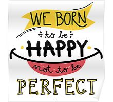 Born To Be Happy Poster