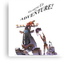 Gearing Up for Adventure Canvas Print