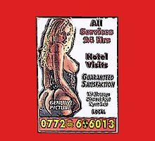 Call Girl Card Unisex T-Shirt