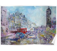 Road To Big Ben - London Art Gallery Poster