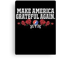 Make Grateful Again - America Canvas Print