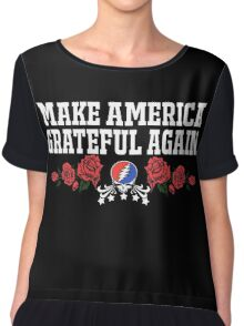 Make Grateful Again - America Chiffon Top