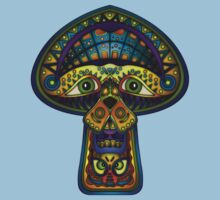 The Great Mushroom in the Sky Kids Clothes
