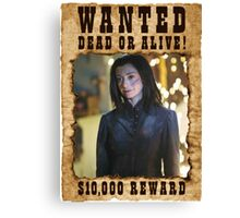 Buffy Dark Willow Wanted 1 Canvas Print
