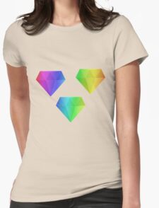 MLP - Cutie Mark Rainbow Special – Amethyst Star Womens Fitted T-Shirt