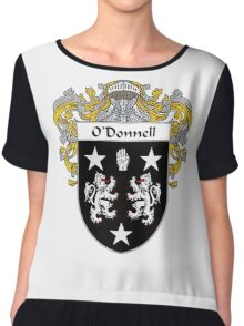 O'Donnell Coat of Arms/Family Crest Chiffon Top