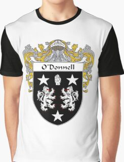 O'Donnell Coat of Arms/Family Crest Graphic T-Shirt