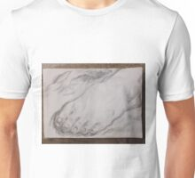 Foot/Old Master Copy -(050616)- Graphite Stick/A4 sketchbook Unisex T-Shirt