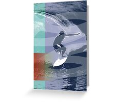 SURF TIME 2 Greeting Card