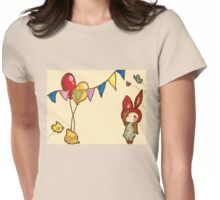 Happy Party Womens Fitted T-Shirt