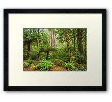 Green World. Framed Print