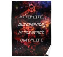 Afterlife/Outerspace FEZ Poster Poster