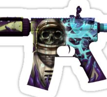 CS:GO M4A4 Desolate Space Sticker