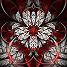 Bleeding - Abstract Fractal Artwork by EliVokounova