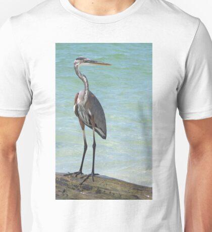 Heron at Stump Pass (Florida, USA) Unisex T-Shirt