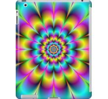 Yellow Pink and Blue Flower iPad Case/Skin