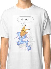 Math Pikachu Classic T-Shirt