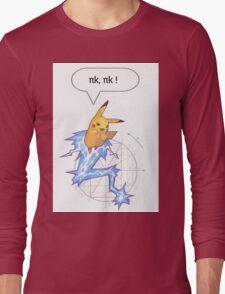 Math Pikachu Long Sleeve T-Shirt