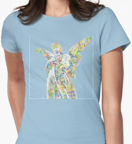 My Angel Womens Fitted T-Shirt