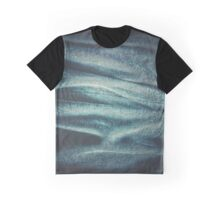 Vintage Blue Jean Texture Graphic T-Shirt