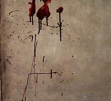 Zombie Attack Bloodprint - Halloween by Nicklas Gustafsson