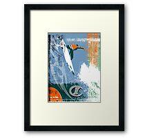 SURF TIME 4 Framed Print