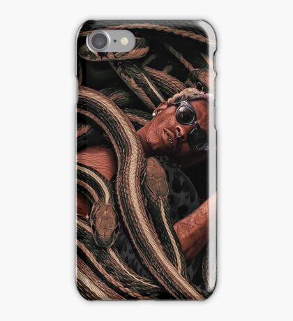 Young Thug Snakes iPhone Case/Skin