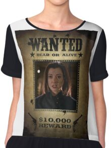 Buffy Dark Willow Wanted 2 Chiffon Top