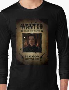 Buffy Dark Willow Wanted 2 Long Sleeve T-Shirt