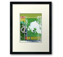 SURF TIME 5 Framed Print
