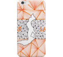 Iseo Lake Doodle iPhone Case/Skin