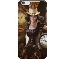 Time girl iPhone Case/Skin