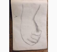 Hand/Raphael Copy -(050616)- Graphite Pen/A4 sketchbook Unisex T-Shirt