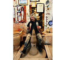 Einstein's pottery dance Photographic Print