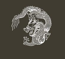 Asian Art White Dragon Unisex T-Shirt