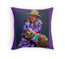 """Hats For Sale"" Throw Pillow"