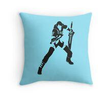 Nero Throw Pillow