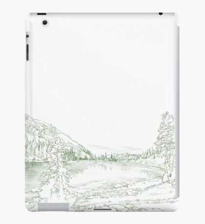 North American fir landscape iPad Case/Skin