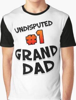 #1 Granddad Graphic T-Shirt