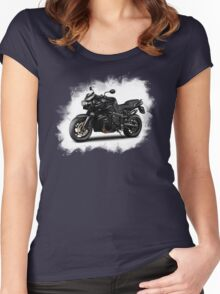 BMW bike /Agat/  Women's Fitted Scoop T-Shirt